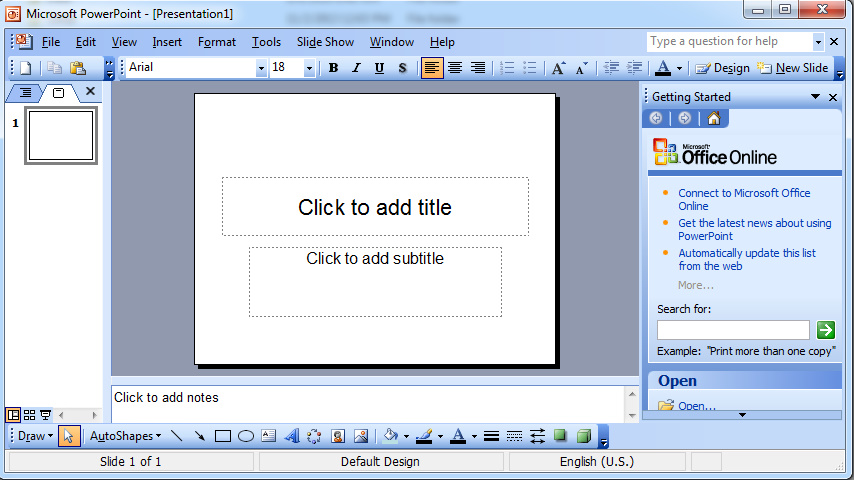 powerpoint office portable