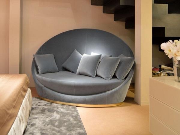 Ghế sofa đơn thích hợp cho không gian nhỏ hẹp